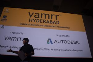 Large Scale presentations on a 4K screen at VAMRR Hyderabad 2017