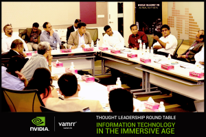 Some of the country's leading thought leaders discussing IT in the immersive age, as information gets immersive.